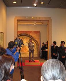 記念館・作家代表加藤令吉先生のごあいさつ