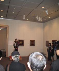 分館展示「服部早苗 日本の美 キルトの華」招聘作家、服部早苗氏によるごあいさつ