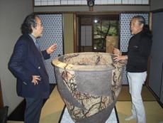 寺田先生(写真左)と 喜多郎さま(写真右)