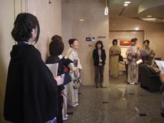 古川美術館にて最初のご挨拶