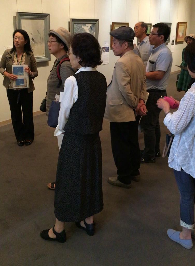 古川美術館ギャラリートークの様子