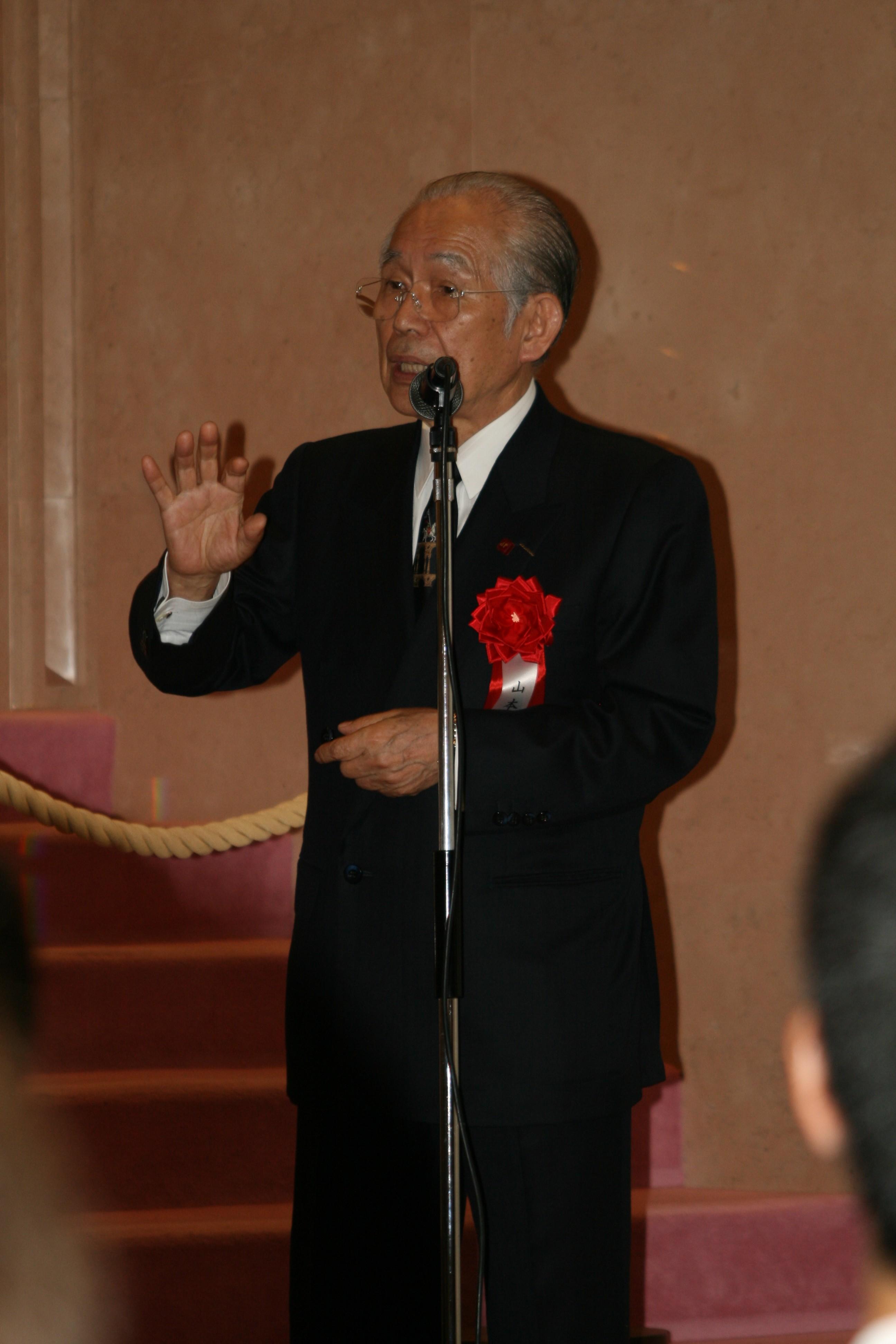 山本眞輔先生